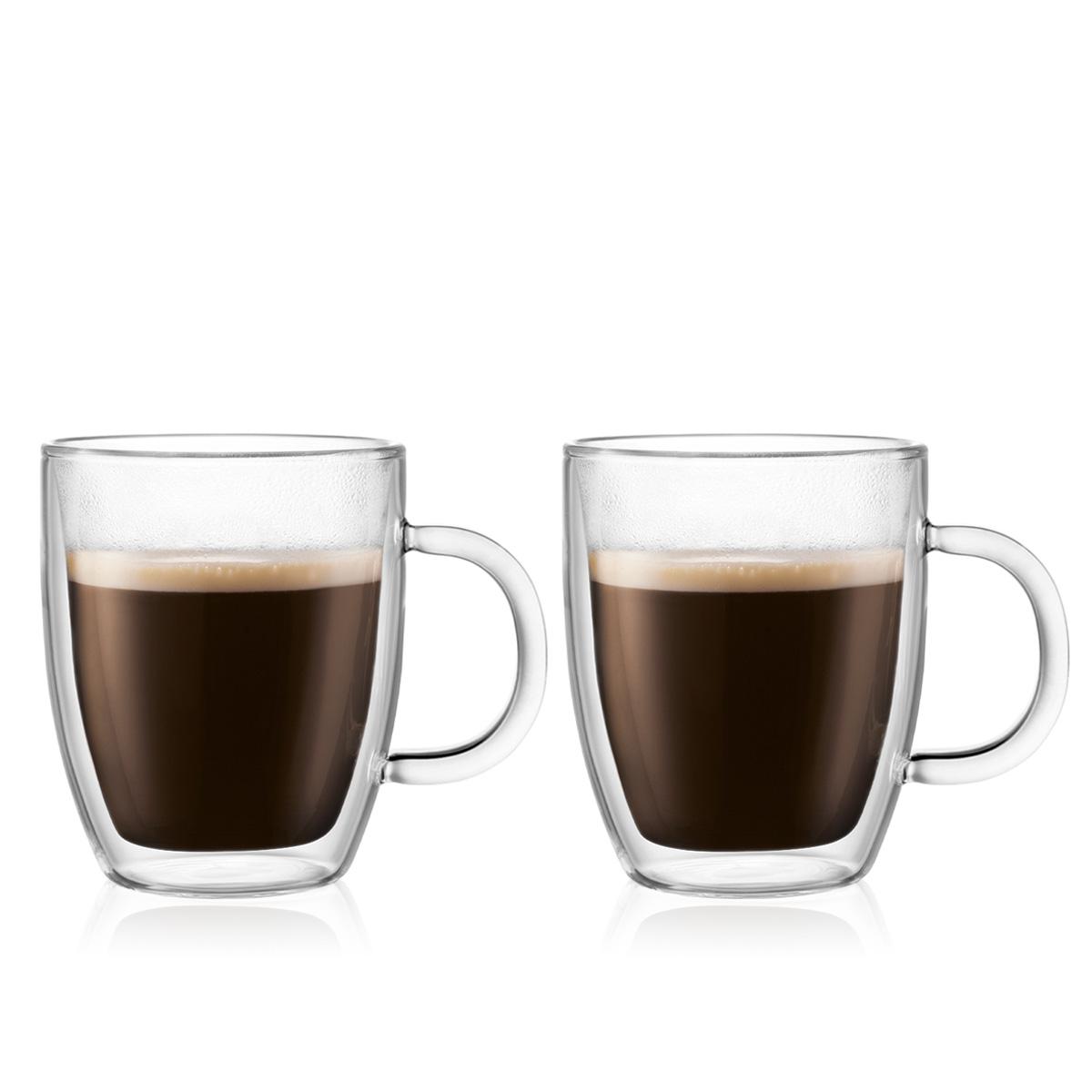 BISTRO: 2 chávenas de parede dupla, 0.3 l