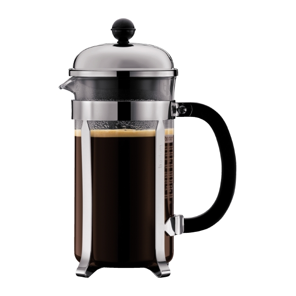 CHAMBORD: Cafetera, 8 tz., 1.0 l, acero inox
