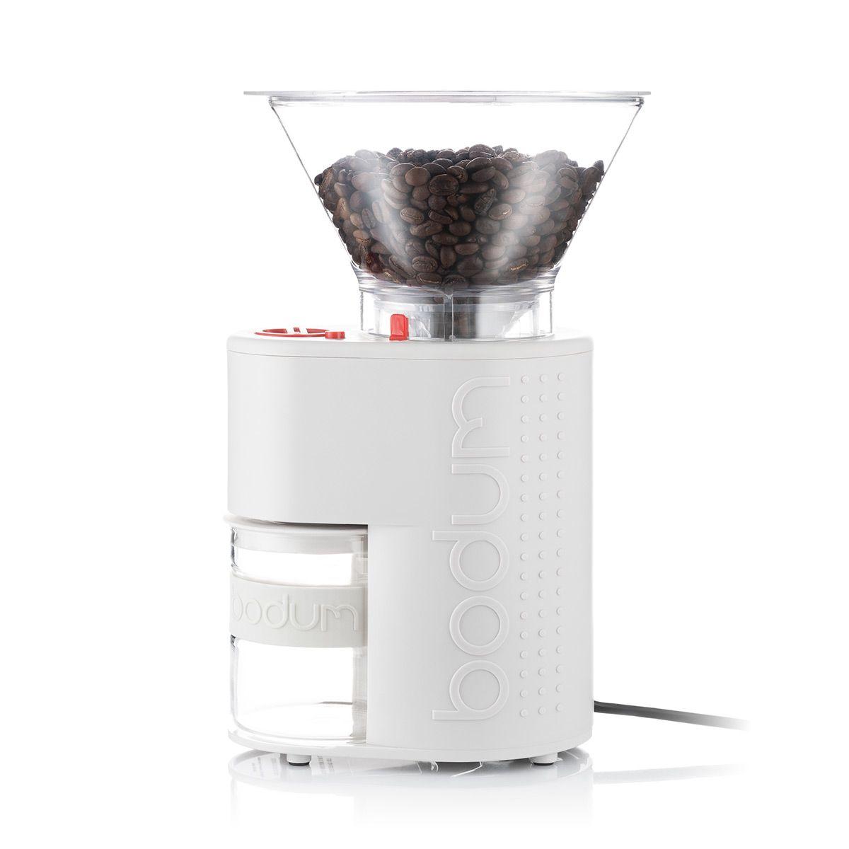 Burr Coffee Grinder BISTRO Bodum - White