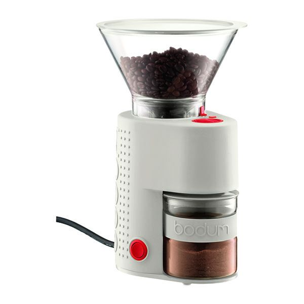 Burr Coffee Grinder BISTRO Bodum - White