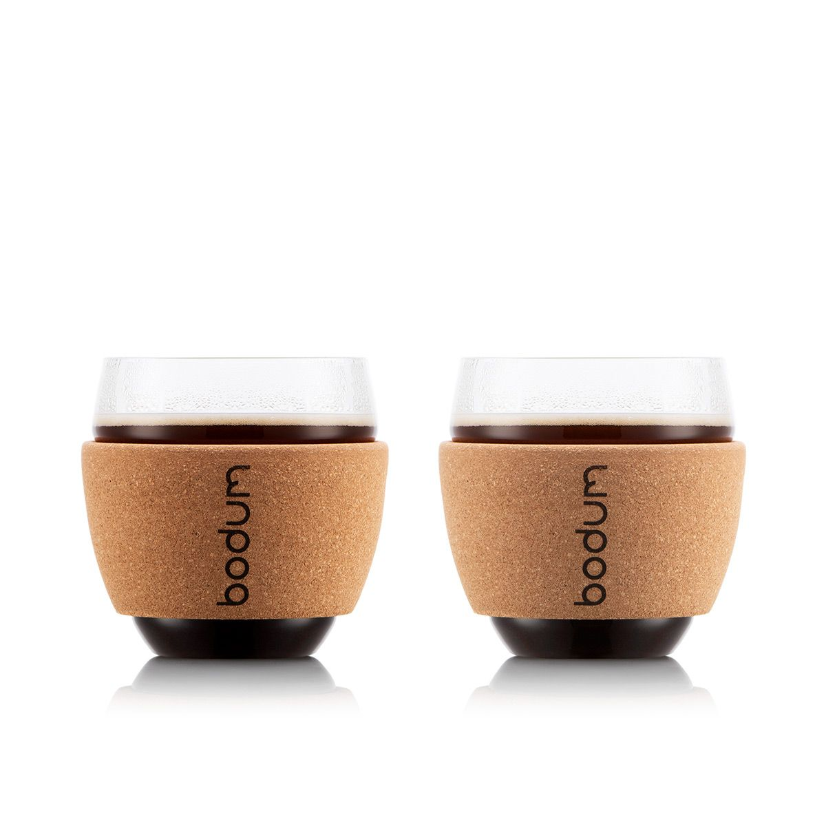 espresso cups with cork Bodum