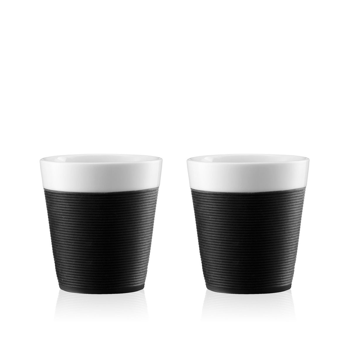 porcelain cup with silicone Bodum