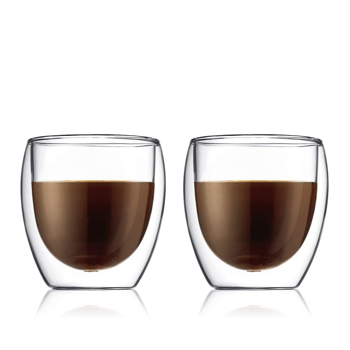 Double Wall Glasses PAVINA - 2 pieces set 0.25 L