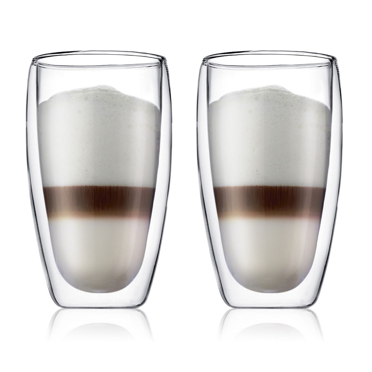Large Double Wall Glasses PAVINA - BODUM