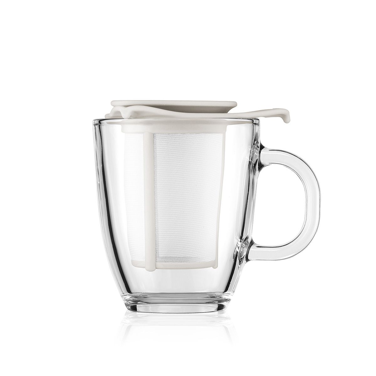 mug with tea infuser - Bodum