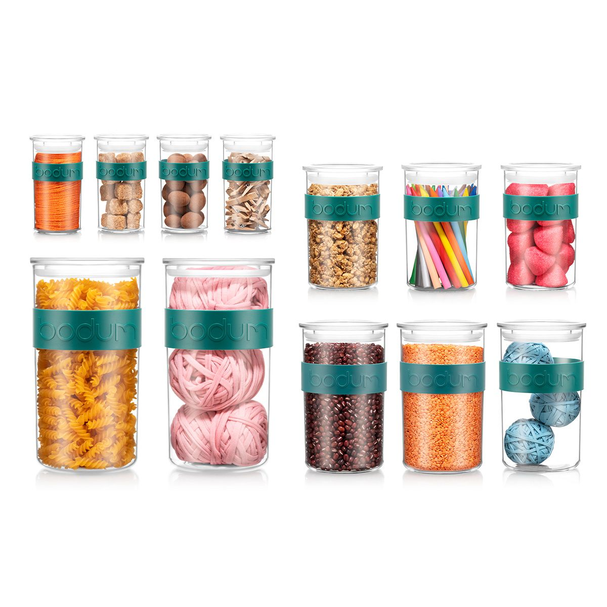 storage jars Bodum