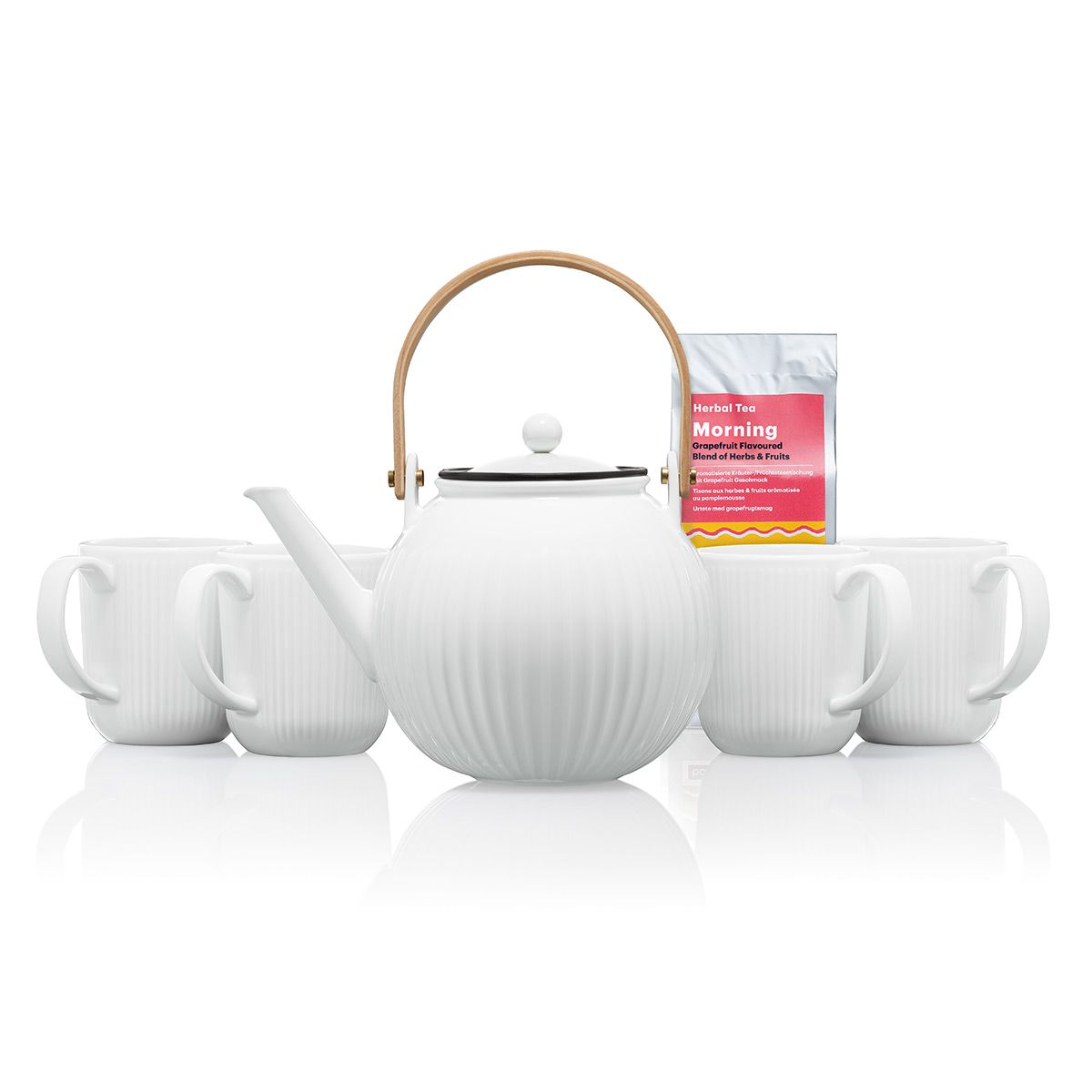 teapot with 4 mugs - Bodum