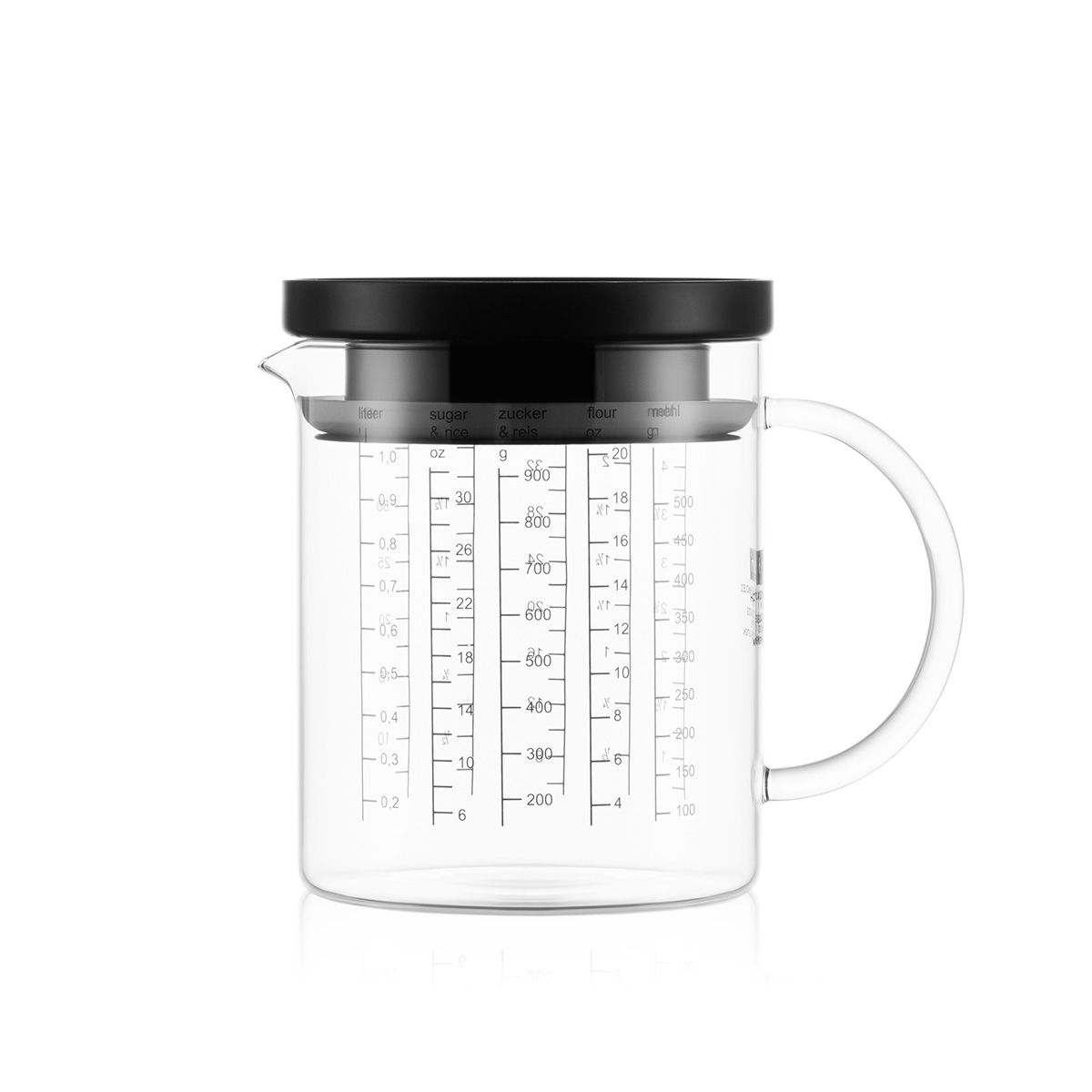 Measuring Jug With Lid HOT POT GOURMET SET Bodum