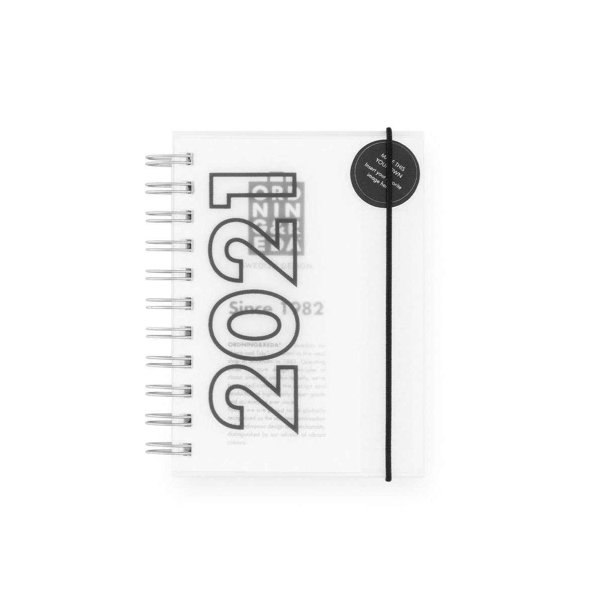 Diary 2021 OWN COVER Ordning and Reda
