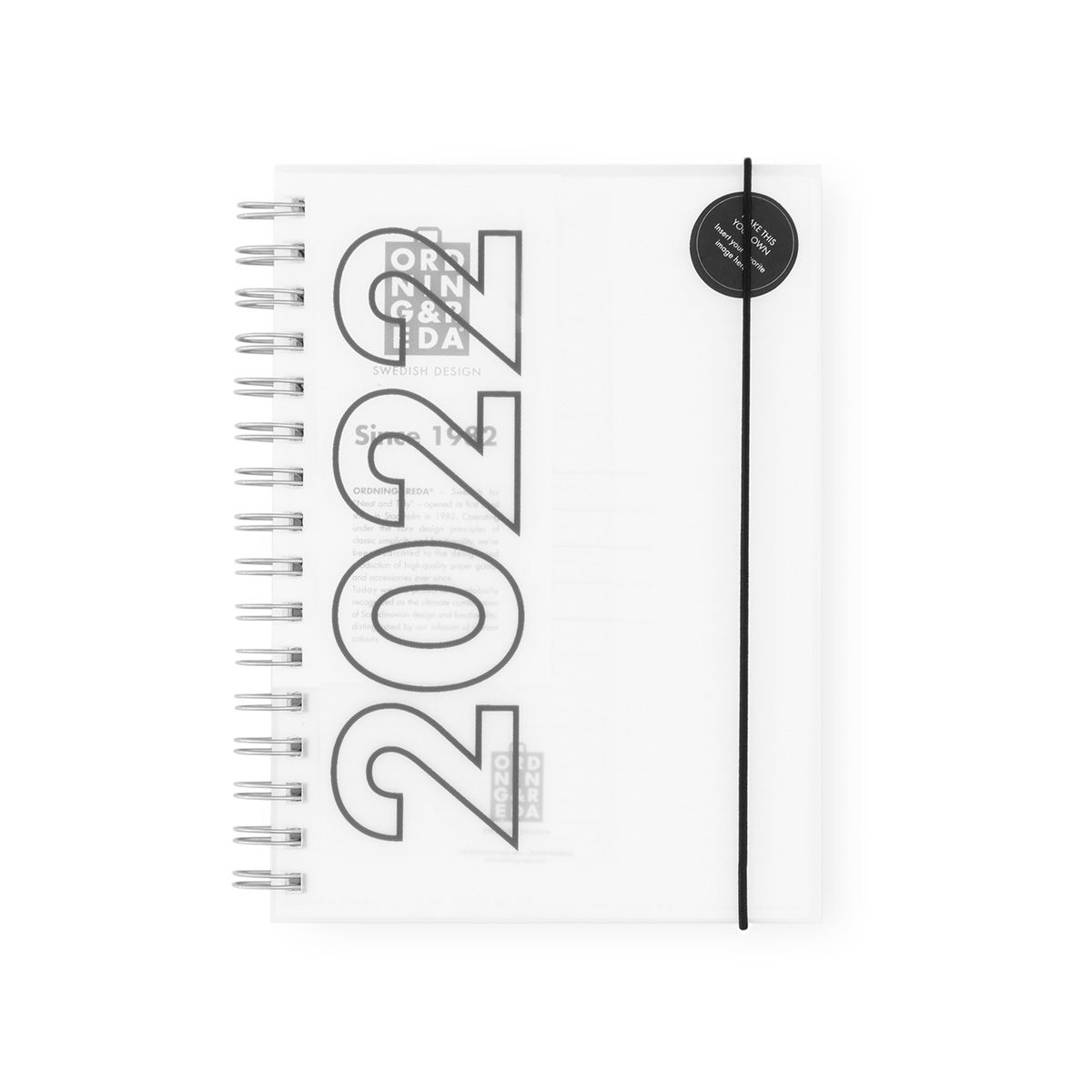Diary 2022 OWN COVER Ordning and Reda