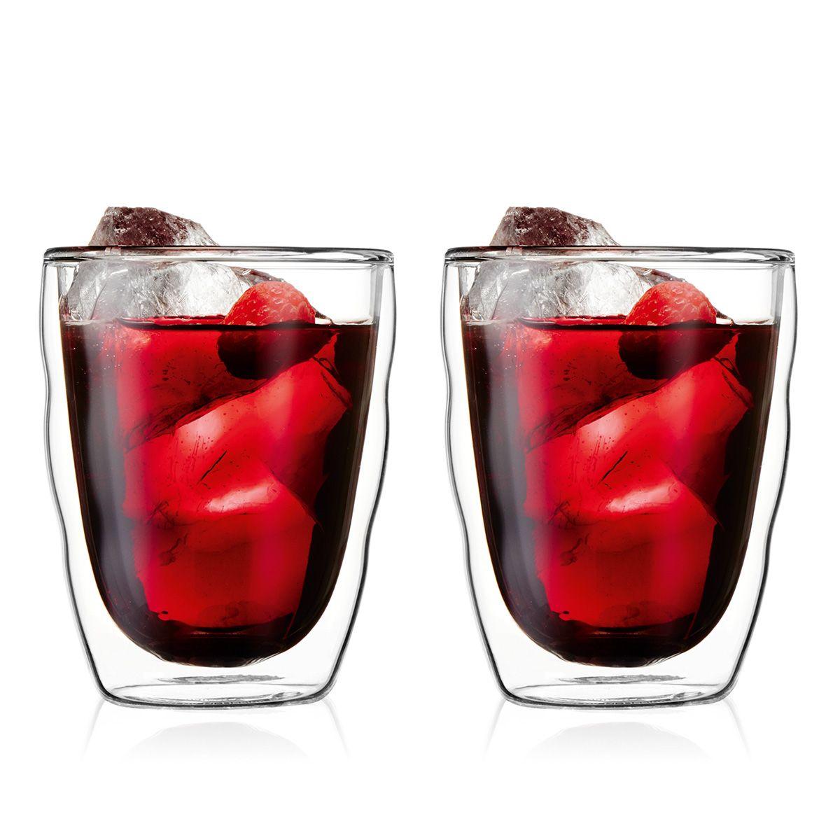 double wall glasses Bodum