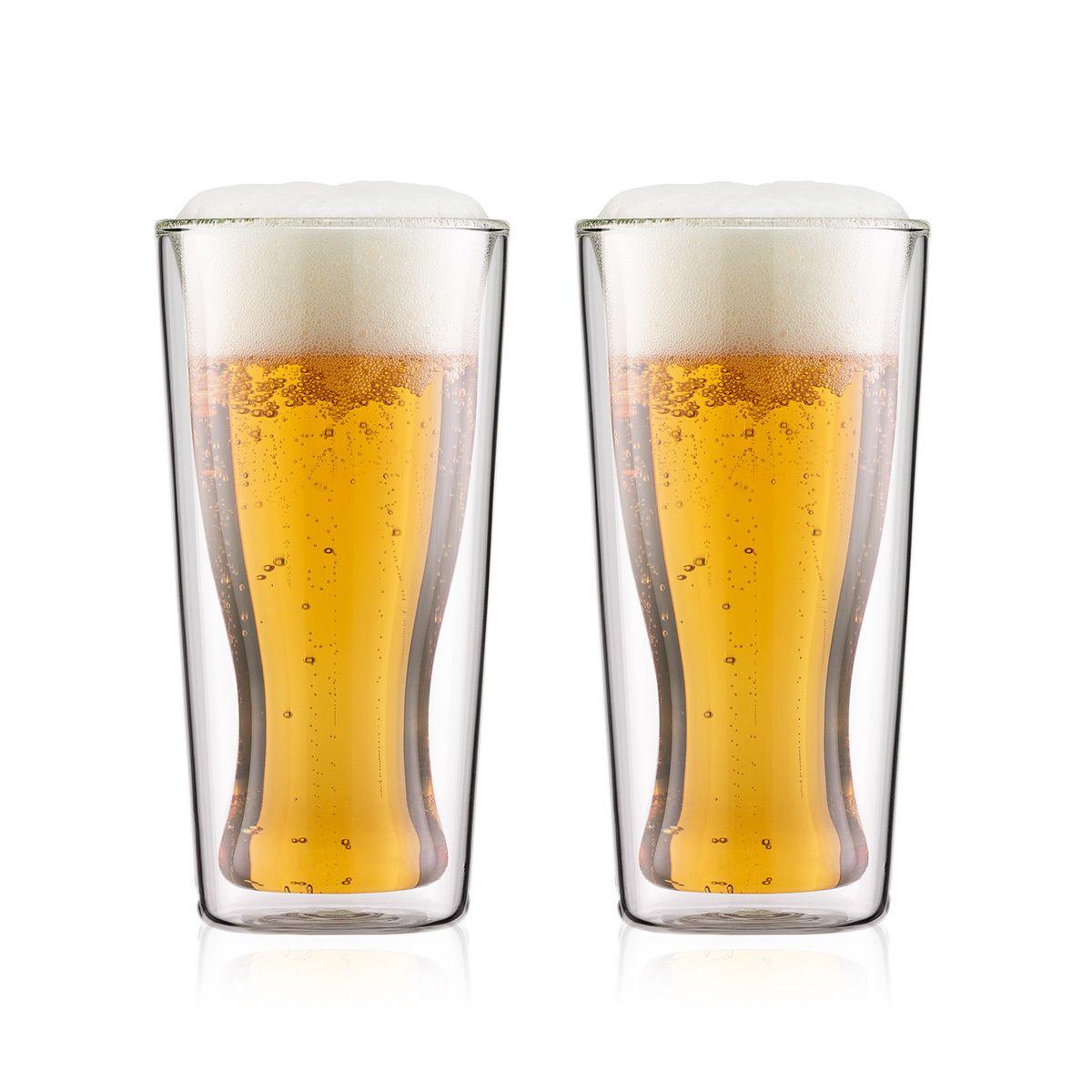 beer glasses Bodum