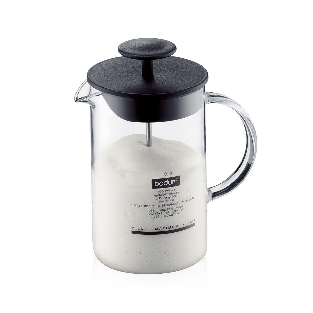 Milk Frother Glass Handle LATTEO Bodum