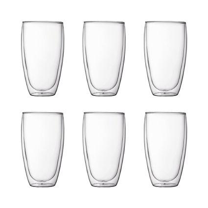 Large Double Wall Glasses PAVINA -  BODUM