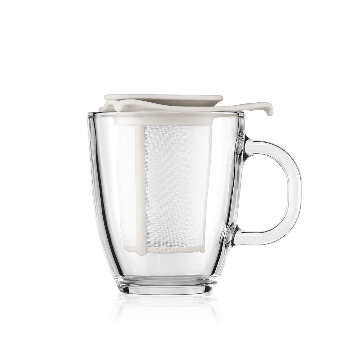 mug with tea infuser - Bodum
