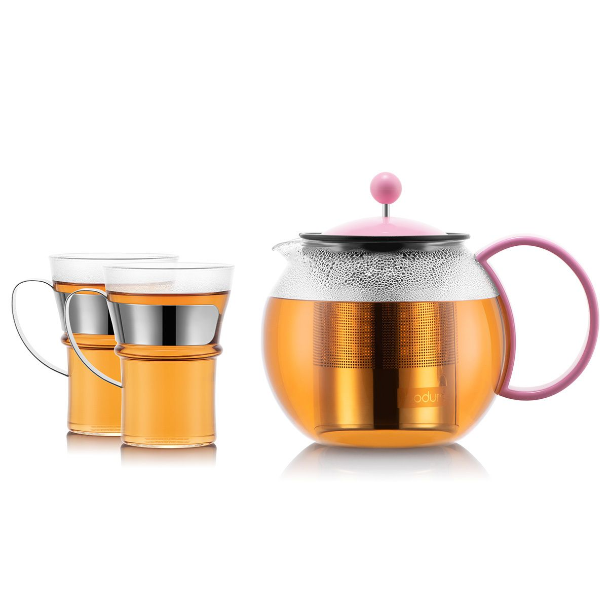 Tea Press and Mugs ASSAM Bodum
