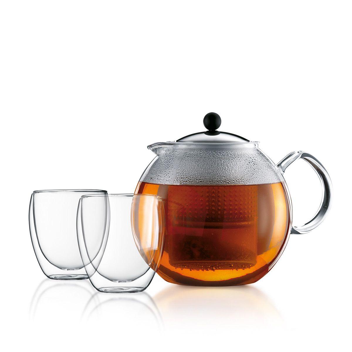 Tea Press Pavina Glass ASSAM Bodum