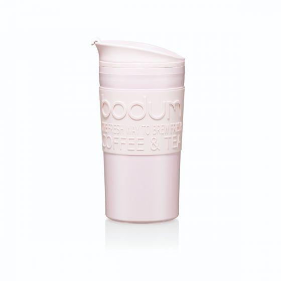12oz Coffee Cup Double Wall Plastic Travel Mug With Logo