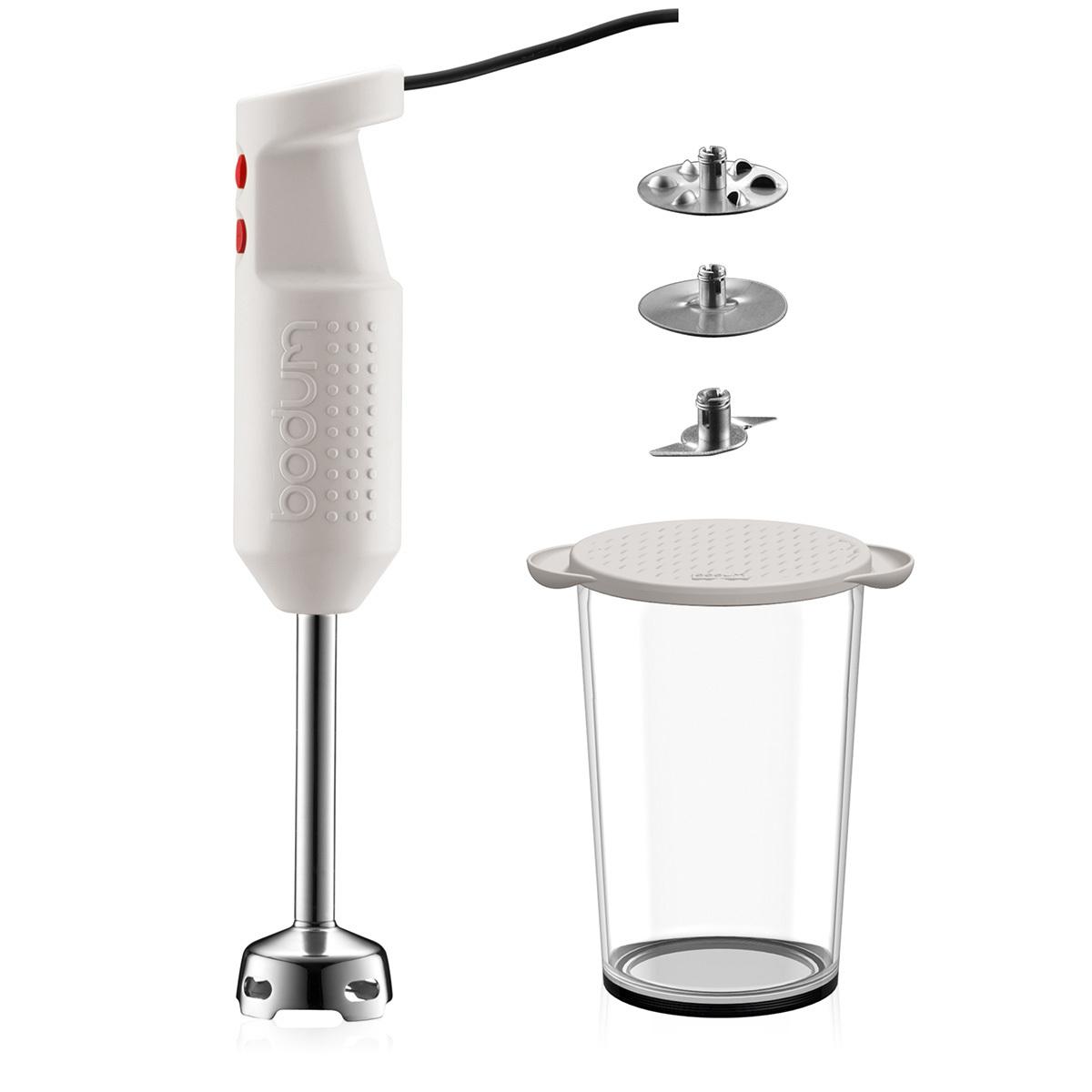 BISTRO SET: Set pied mixeur électrique, avec accessoires, 300 W