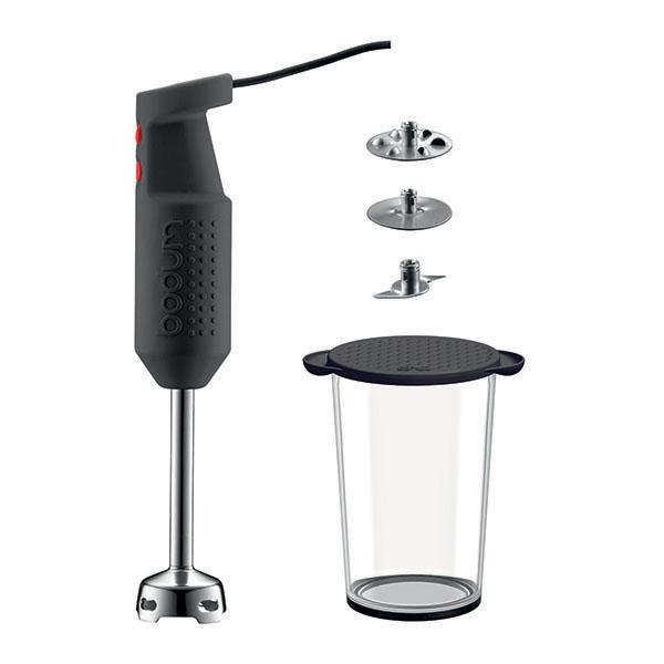 Bodum BISTRO SET: Electric blender stick with accessories | Black
