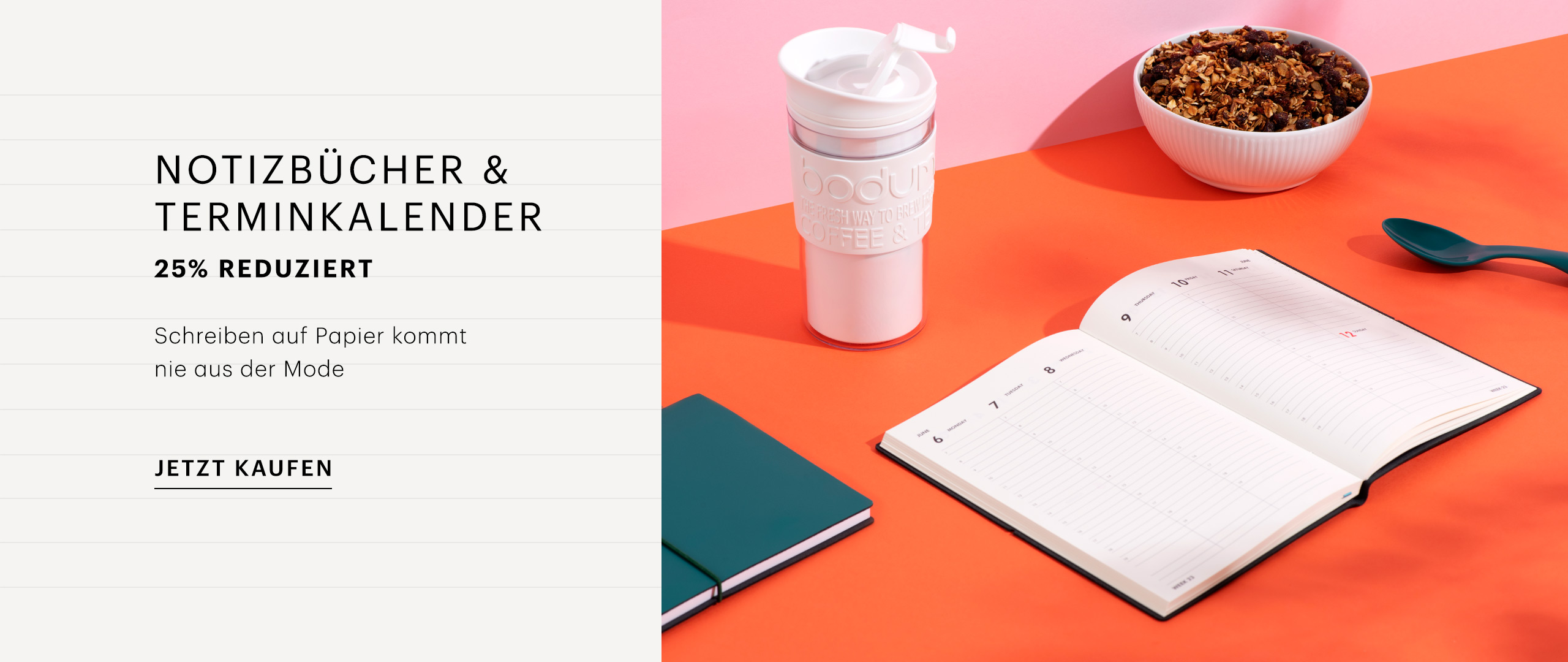 [OR] Notebooks and Diaries DE