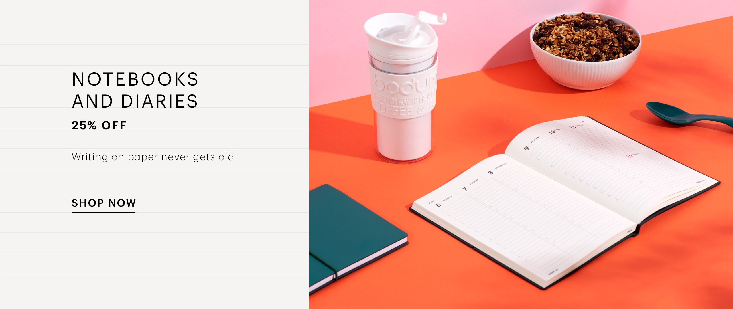 [OR] Notebooks and Diaries EN