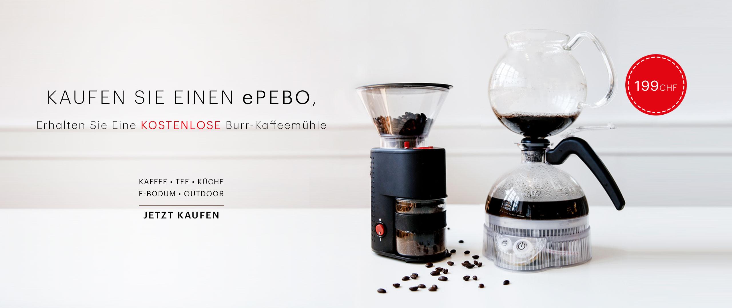 BEU - [DE-CH-CHF] - ePEBO + Burr Grinder
