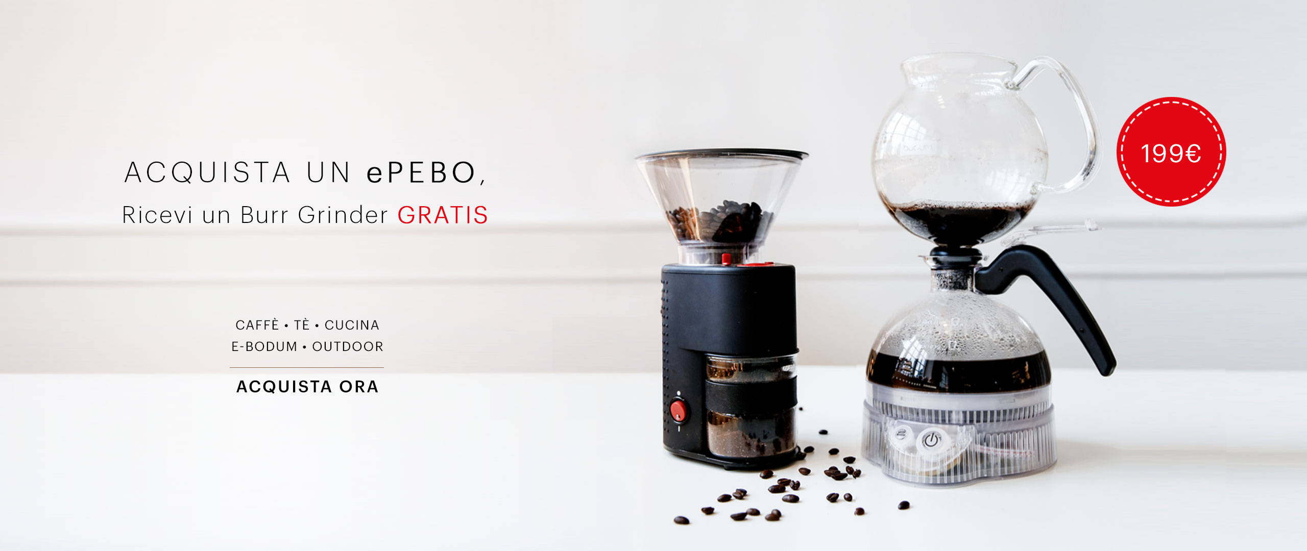 BEU - [IT-EUR] - ePEBO + Burr Grinder
